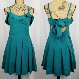 3/$40 Double Zero Sleeveless Party Pocket Dress Lg